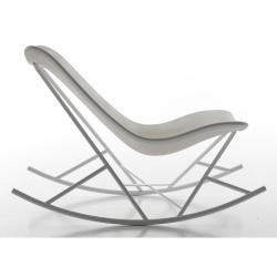 Chaise à Bascule Blanche Design Du0027Eduardo Baroni