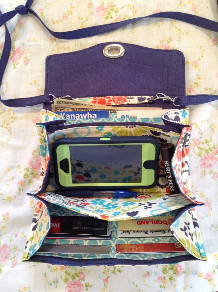 selfish sewing week: the necessary clutch || imagine gnats 2 of 3