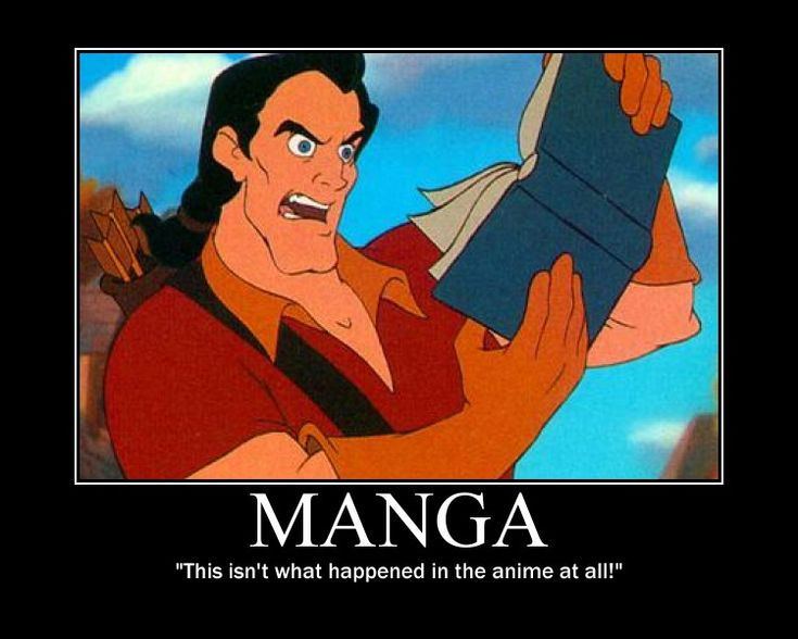 That's what I did the first time reading manga. Then i also realised the difference in the anime and manga.