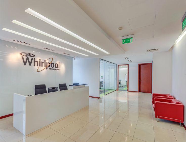 Kolejna nasza realizacja - biuro firmy Whirpool przy ul. 1 sierpnia 8 w Warszawie.