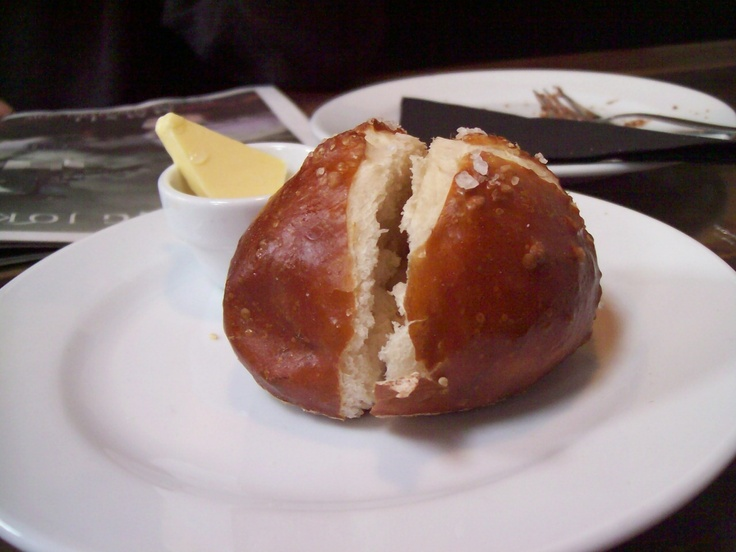 Pretzel Flower - Black Bettys in Christchurch - warm with butter- yum