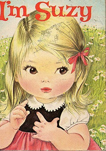 """Vintage Book Cover- """"I'm Suzy"""", illustrated by Alice Schlesinger"""