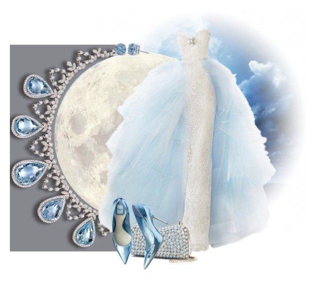 """586. El secreto de la ultima luna"" by adelaida0912 ❤ liked on Polyvore featuring Elie Saab"