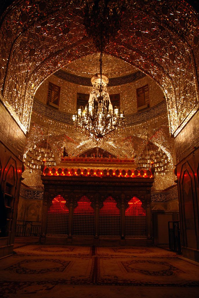 Inside shrine of Imam Hussain [a.s.] in Karbala, Iraq.--need yo arrange a  abroad travel ,maybe Iraq could be a choice