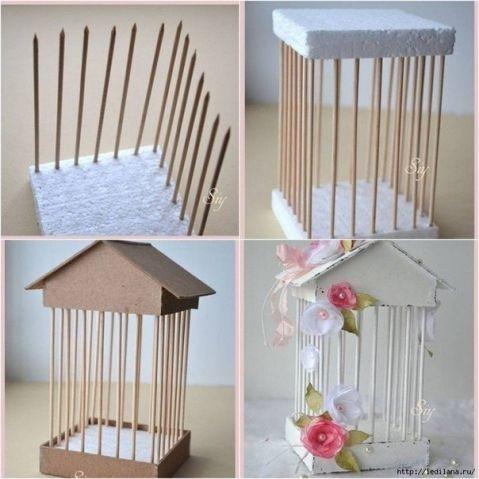 Скоро ВЕСНА и можно и птичьих домиках подумать / Декор / Интересные идеи декора