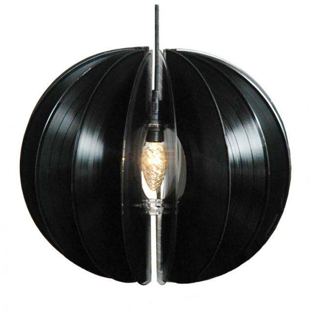 Vinyl record lamp let there be light pinterest for Lamp light records