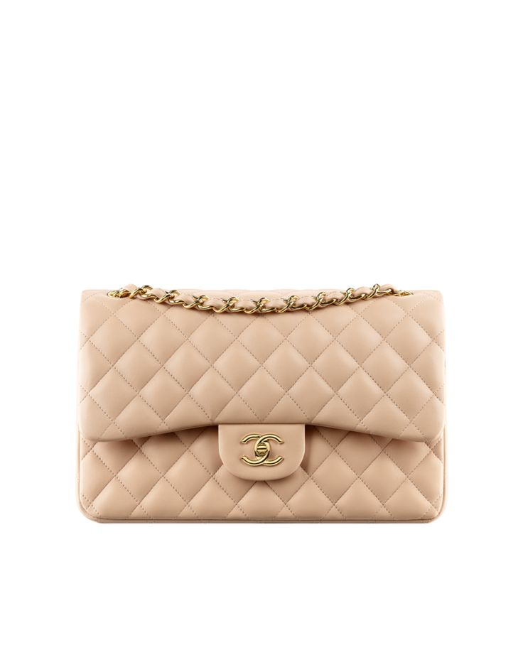 Classic flap bag in quilted... - CHANEL