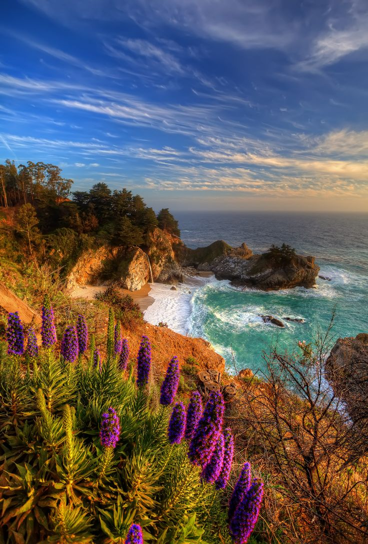 beautiful wedding places in northern california%0A McWay Falls in Julia Pfieffer State Park   Big Sur California  Big Sur CaliforniaBeautiful  Places