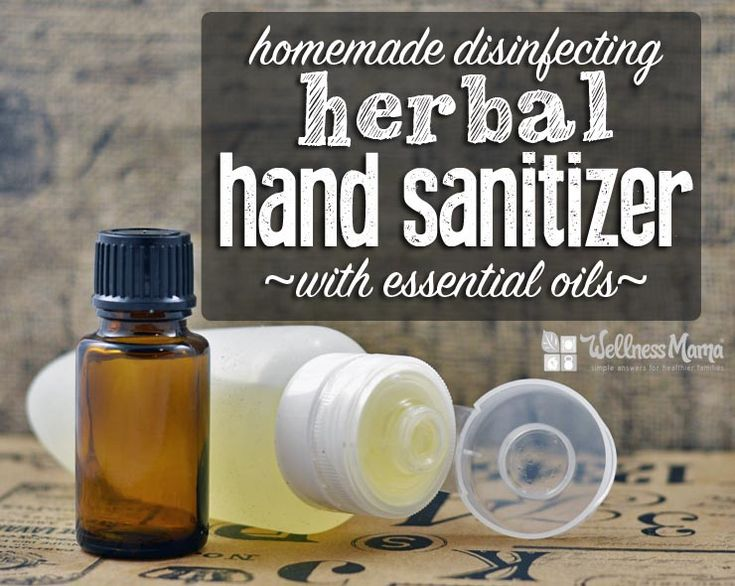 A natural herbal hand sanitizer gel that disinfects naturally with aloe vera gel and essential oils like lavender, orange, rosemary, clove and cinnamon.