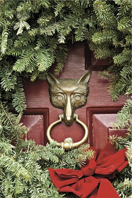 HOME DECOR – HARDWARE – fox doorknocker