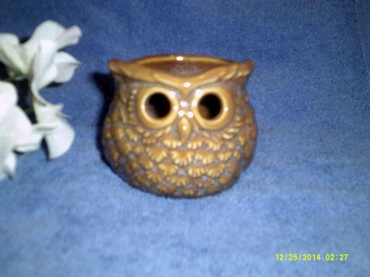 Yankee Candle Owl Tealight Holder #YankeeCandle  **SOLD**