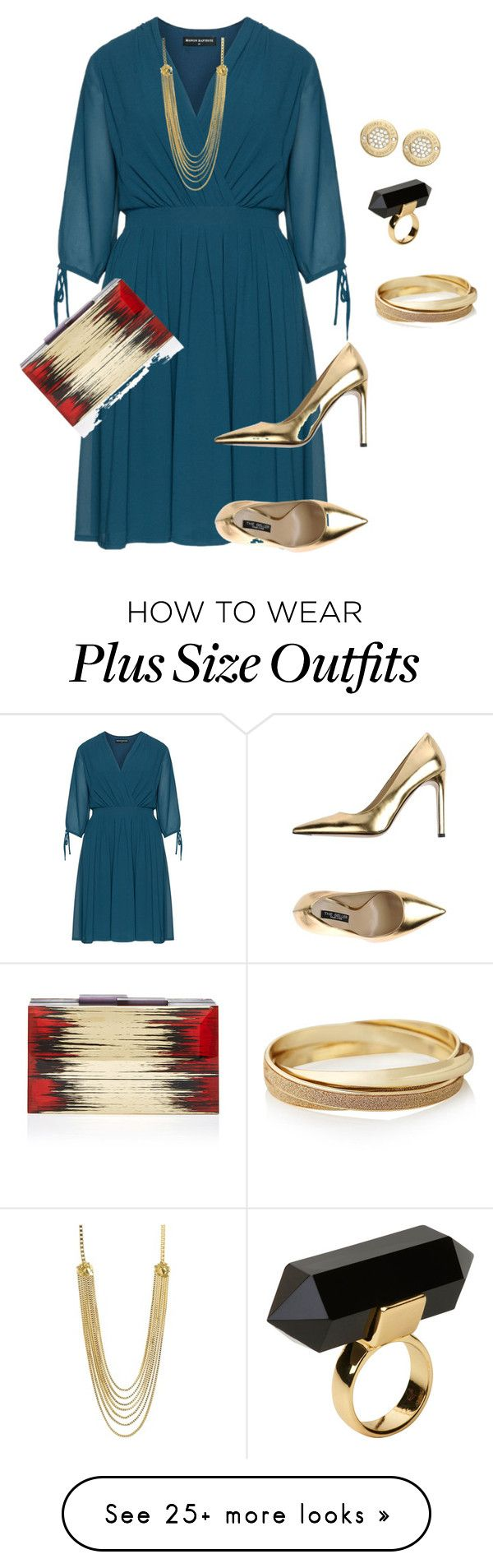 """plus size fancy wedding date look"" by kristie-payne on Polyvore featuring Manon Baptiste, The Seller, CC SKYE, Rauwolf, Monki, Michael Kors and The Limited"