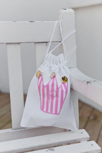 Handmade Personalised Party Bags - Fairy Crown