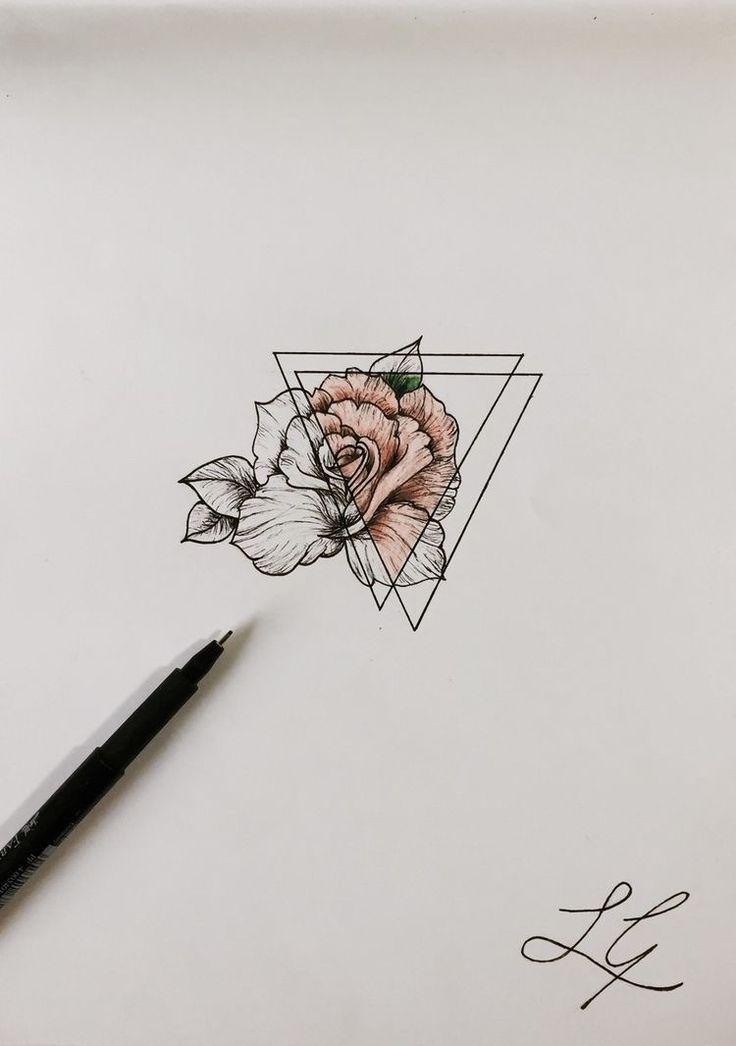 Geometrische Tätowierung – Tätowierungen • Ins…