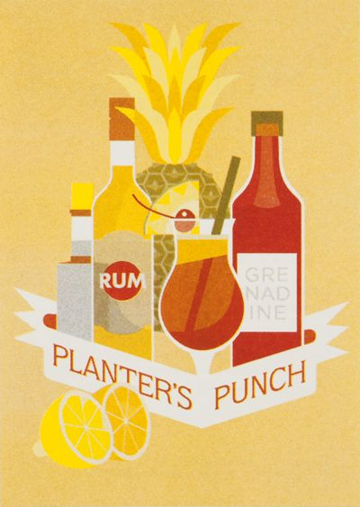Happy hour by Lukas Laibacher, via Behance