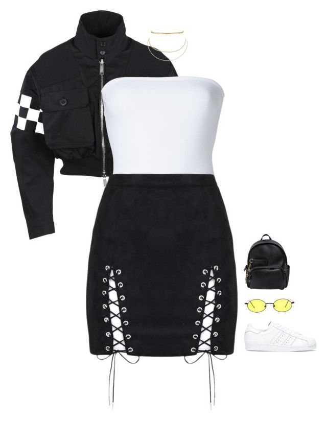 """Untitled #2503"" by voidpietro ❤ liked on Polyvore featuring Dsquared2, ONIA, adidas, Gucci and Aqua"