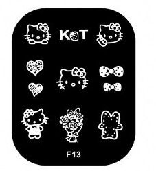 Nails - NAIL ART IMAGE STAMPING PLATE (F-SERIES) for sale in Virginia (ID:218754547)