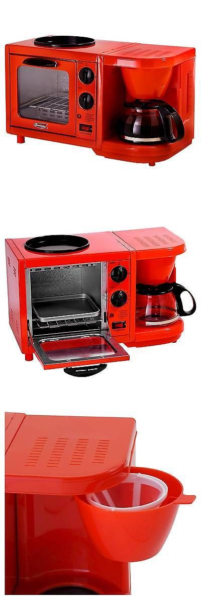 Toaster Ovens 122930: Americana By Elite 3-In-1 Mini Breakfast Shoppe -> BUY IT NOW ONLY: $32.49 on eBay!