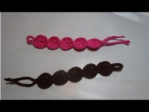 Crochet Braccialetto Bracciali  all'uncinetto Tutorial