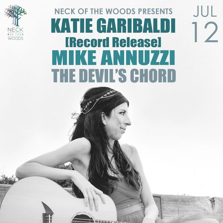 Katie Garibaldi Follow Your Heart record release show at Neck Of The Woods July 12, 2014