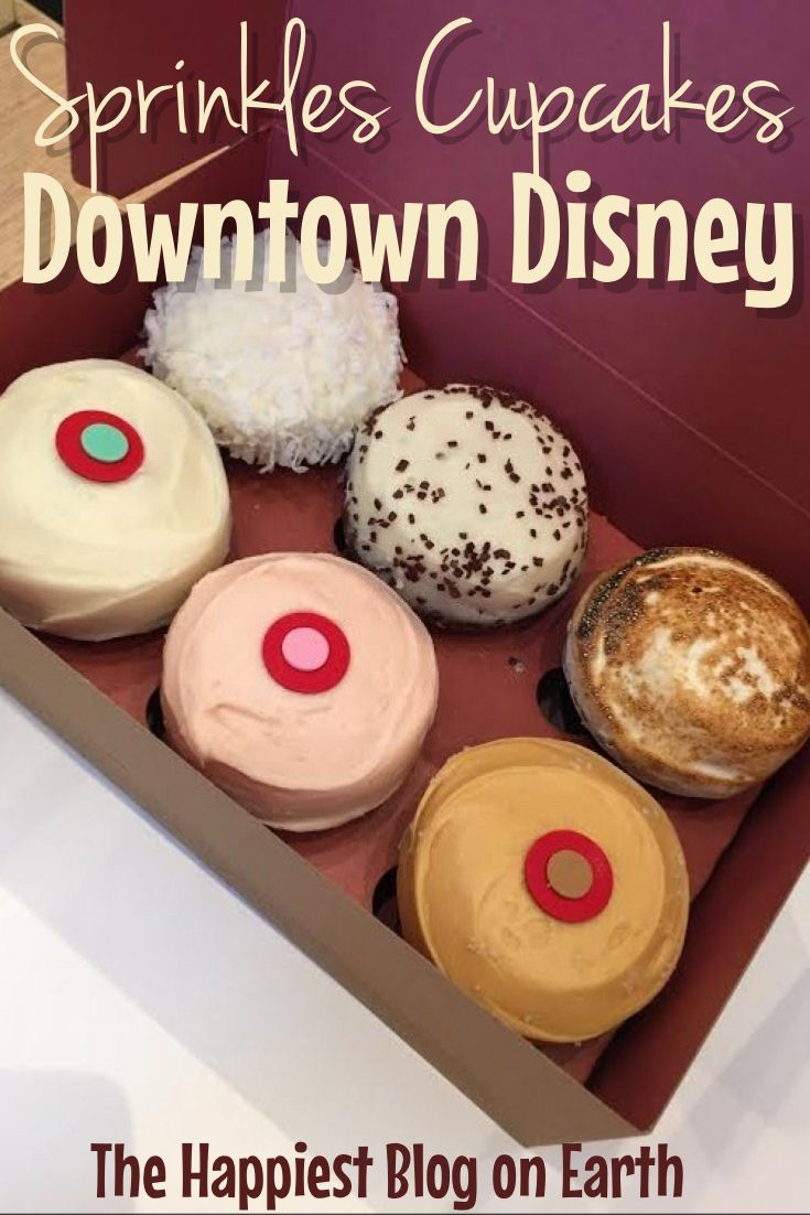 Disneyland   Disneyland Tips   Disneyland Travel   Sprinkle Cupcakes Disneyland   Sprinkles Cupcakes Downtown Disney