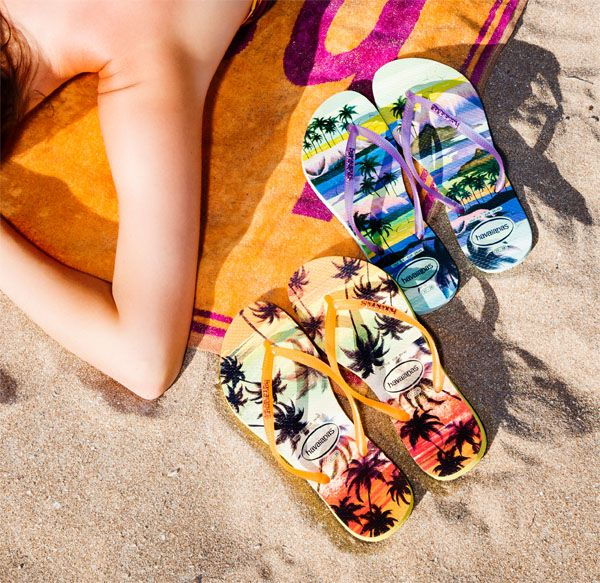 Brilhos da Moda: Chinelos Havaianas