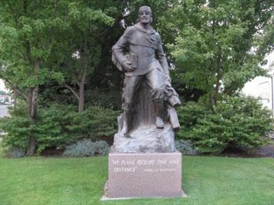 The Marcus Whitman memorial, Walla Walla, Washington