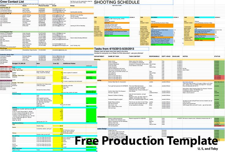 Film Screening of Kelly Amisu0027 TEACHED! short films  - production schedule template