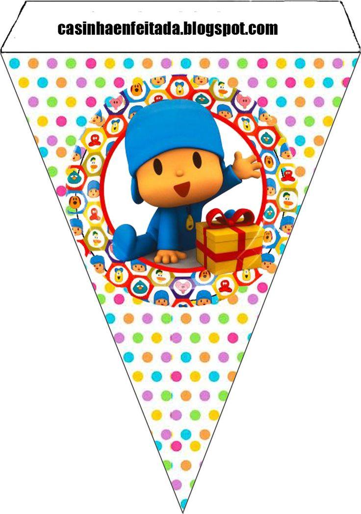 Kit gratis fiesta cumpleaños Pocoyo