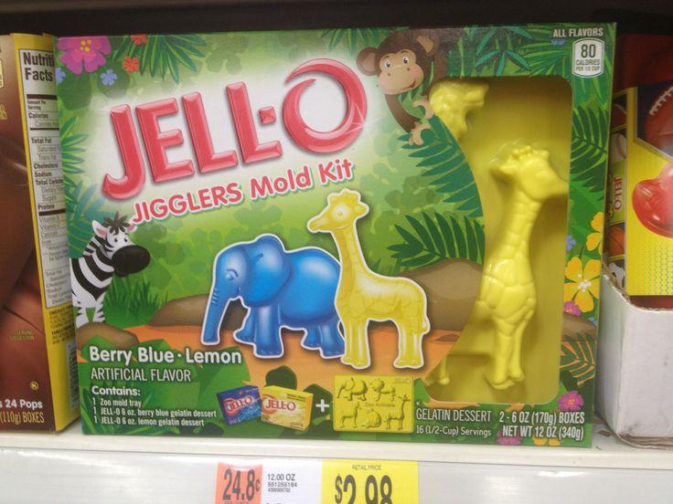 Giraffes ruin Jello.