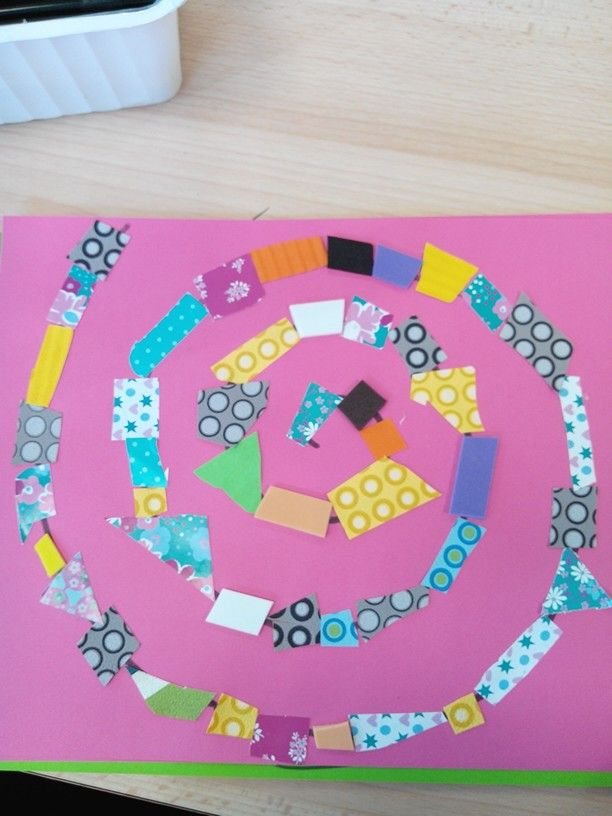 Atelier spirale maternelle