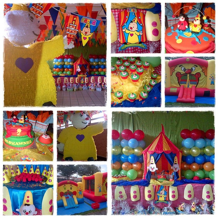 Bumba Circus Party  Styled by Wauw Wat een Feest