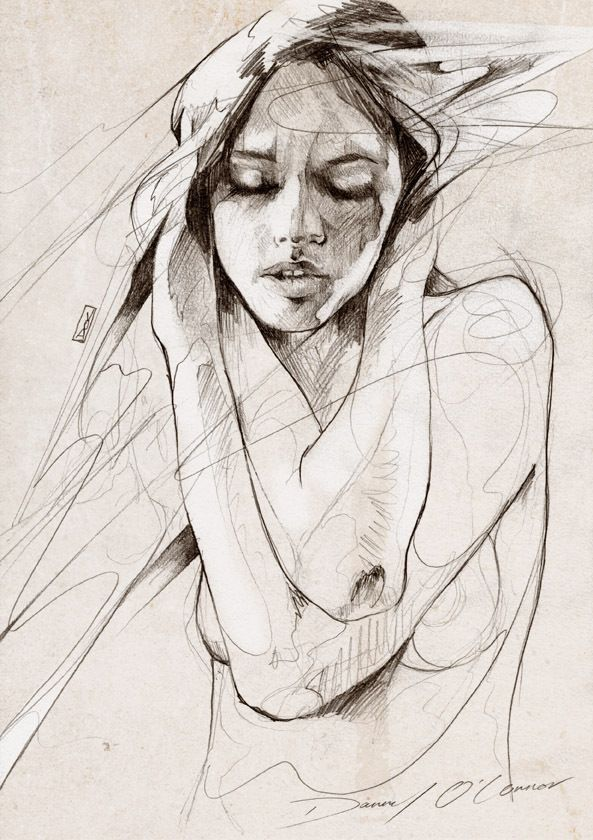 """Image of """"Figure Sketch"""" OPEN EDT PRINT on 315gsm 100% Cotton Rag Paper 