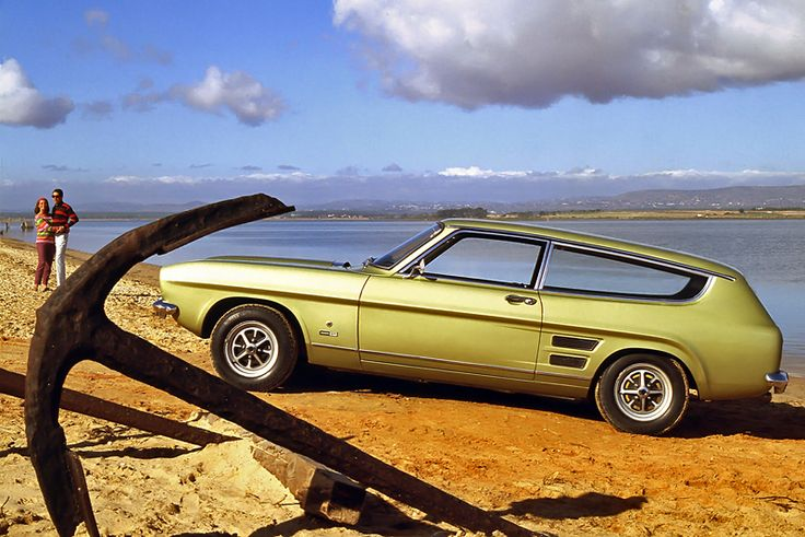 Ford Capri Estate Car concept. With a little more thought this could probably have been a GTE competitor