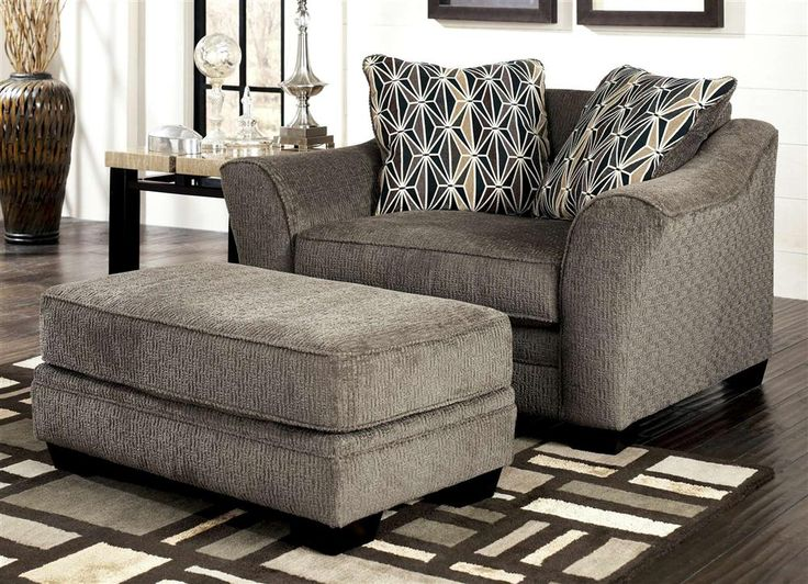 Best Chair And A Half W Ottoman Set In Chair And A Half 640 x 480