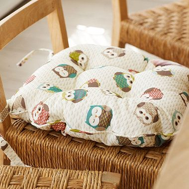 Owls Kitchen Chair Cushion - From Lakeland for the crazy already got stuff for it owl kitchen I will have
