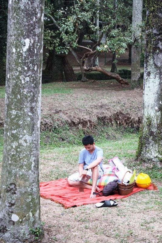 Reading at Taman Langsat