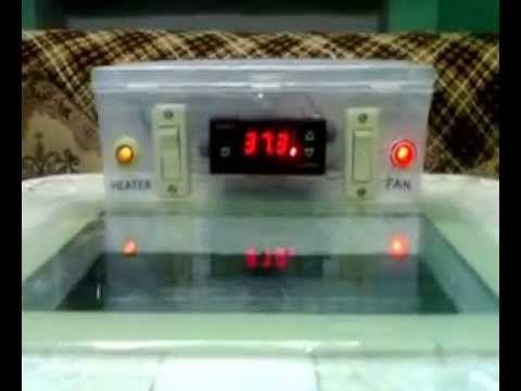 how to set incubator temperature