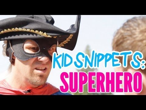 New Kid Snippets videos every MONDAY. If movies were written by our children... We asked a couple kids to act out what a Superhero would do at a playground. This is what they came up with.    Produced by Bored Shorts TV  Filmed and Edited by Ryan Haldeman  Starring:  Brett Roberts  Jarond Suman  Editing Consultants:  John Roberts  Brett Roberts      Keyword...