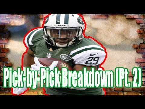 Fantasy Football Podcast 06/28/17: Pick-by-Pick Breakdown (Pt. 2)