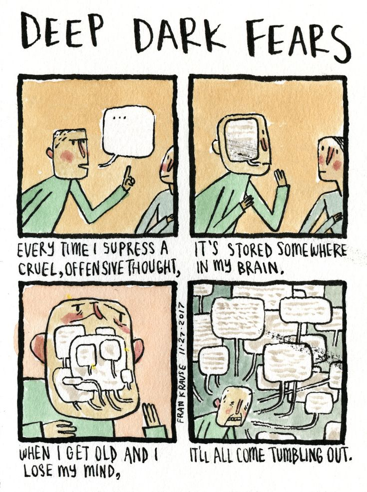 "You took the words right out of my mouth. A fear submitted by Mark to Deep Dark Fears - thanks! My new book ""The Creeps"" is available now from your local bookstore, Amazon, Barnes & Noble, Book..."
