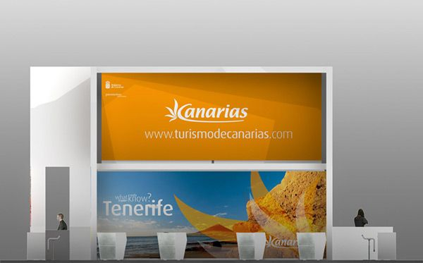 Tourism Stand of Canarias on Behance