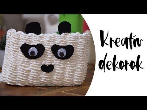 (101) Különleges DIY szobadekorációk: gyümölcsös alátétek, pandás kosarak | INSPIRÁCIÓK 1 PERCBEN - YouTube