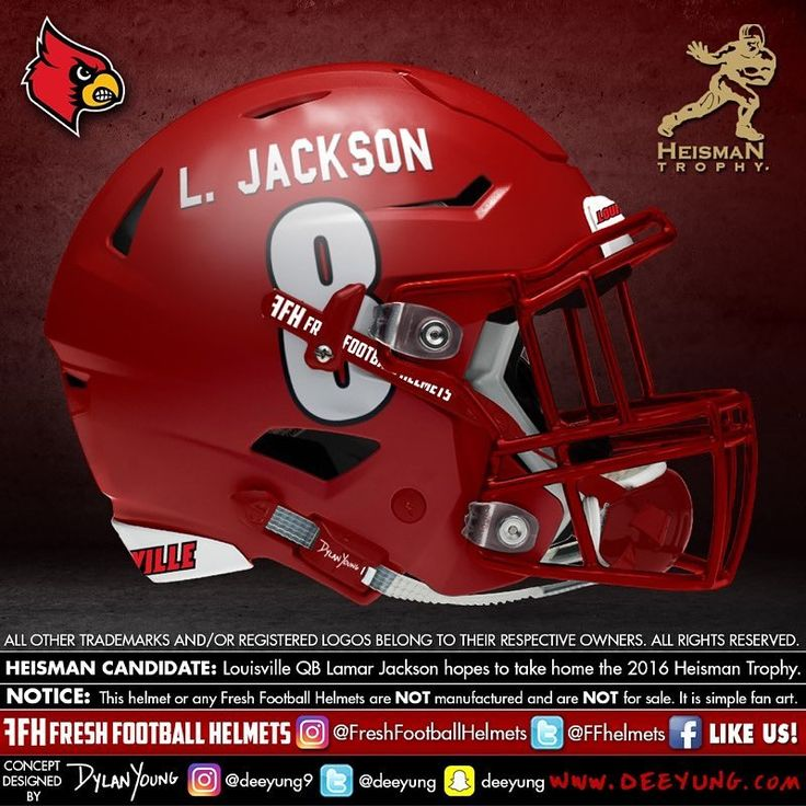 Designer Has Concept Helmets For 43 Of College Football's Top Programs