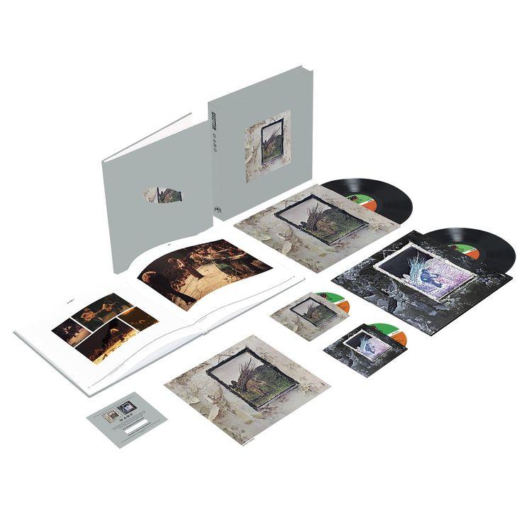 """L'album dei #LedZeppelin intitolato """"Led Zeppelin IV"""" su doppio vinile e doppio CD. Il cofanetto """"Super Deluxe Box Set"""" contiene:  - l'album rimasterizzato su CD con riproduzione della copertina del vinile originale   - CD audio in un involucro di cartone con nuova copertina - l'album rimasterizzato su vinile 180 g vinile replica della prima stampa - vinile 180 g con nuovo artwork"""