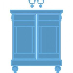Marianne Design LR0314 - Sweet cabinet