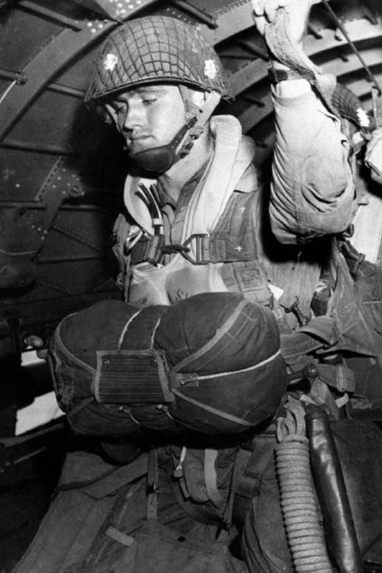 d-day paratrooper jump