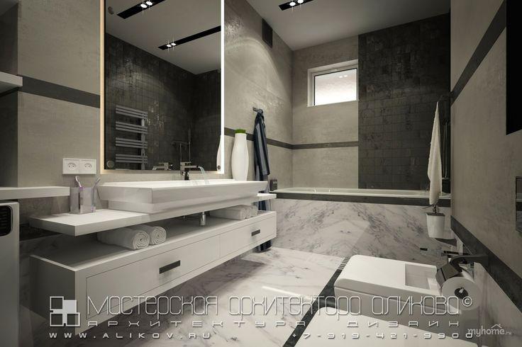Интерьер квартиры во Владикавказе. Ванная