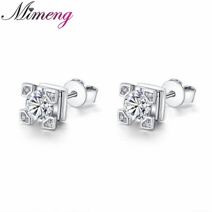 100% Sterling Silver Jewelry Eiffel Tower Silver Stud Earrings Silver Earrings Top Quality!! Christmas Gift Free Shippings www.bernysjewels.com #bernysjewels #jewels #jewelry #nice #bags