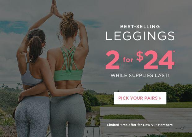 Fabletics Leggings 2 for $24